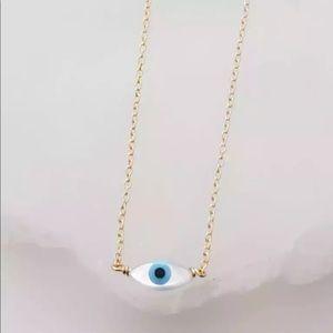 Gold Evil eye necklace 3/$30
